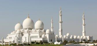 Abu Dhabi Sheikh-Moschee Lizenzfreies Stockfoto