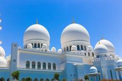 Abu Dhabi, Sheikh Zayed Grand Mosque en Abu Dhabi Imagen de archivo