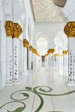 Abu Dhabi. Sheikh Zayed-Moschee Lizenzfreie Stockfotos