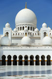 Abu-Dhabi. Sheikh Zayed mosque Stock Photo