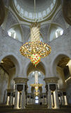 Abu Dhabi - Sheikh Zayed Mosque Stock Photography