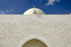 Abu Dhabi - Sheikh Zayed Mosque Royalty Free Stock Photo