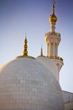 Abu Dhabi Sheikh Zayed Mosque, de V.A.E Royalty-vrije Stock Foto's