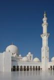 Abu Dhabi Sheikh Zayed Mosque famoso Imagem de Stock