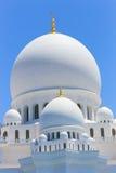 Abu Dhabi Sheikh Zayed Mosque famoso, UAE Imágenes de archivo libres de regalías