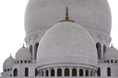 Abu Dhabi Sheikh Zayed Mosque nachts Stockfotografie