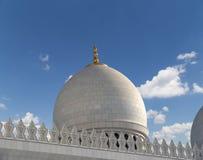 Abu Dhabi Sheikh Zayed White-Moschee in UAE Lizenzfreie Stockbilder