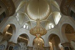 Abu Dhabi Sheikh Zayed White-Moschee in UAE Lizenzfreie Stockfotografie