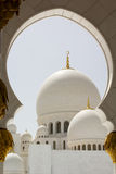 Abu Dhabi Sheikh Zayed White Mosque Royalty Free Stock Image