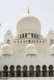 Abu Dhabi Sheikh Zayed White Mosque Stock Image