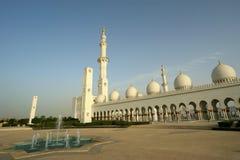 Abu Dhabi Sheikh Zayed White Mosque in UAE Royalty Free Stock Image