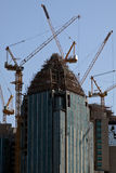 Abu Dhabi Skyline. High-rise constructions. United Arabic Emirates Royalty Free Stock Photos