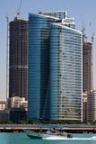 Abu Dhabi Skyline. High-rise constructions. United Arabic Emirates Stock Photo