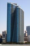 Abu Dhabi Skyline. United Arabic Emirates Stock Photo