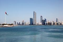 Abu Dhabi Skyline Foto de archivo