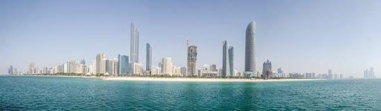 Abu Dhabi Skyline Imagem de Stock
