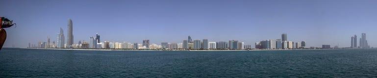 Abu Dhabi Skyline Fotografia de Stock