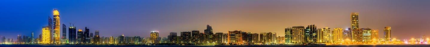 Abu Dhabi Skyline Photographie stock libre de droits