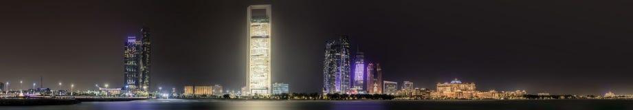 Abu Dhabi Skyline Image libre de droits
