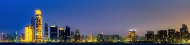 Abu Dhabi Skyline Stockfotografie