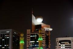 Abu Dhabi-Skyline, Arabische Emirate Stockfoto