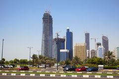 Abu Dhabi Skyline, UAE Stock Images