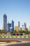 Abu Dhabi Skyline, UAE Stock Image