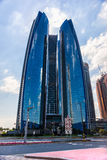 Abu Dhabi Skyline, UAE Lizenzfreie Stockbilder