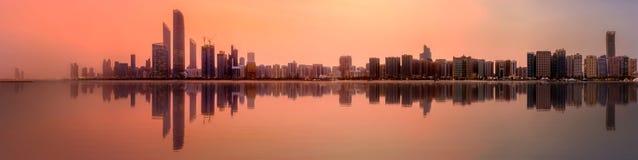 Abu Dhabi Skyline Royalty Free Stock Image