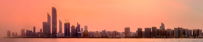 Abu Dhabi Skyline Stock Photos