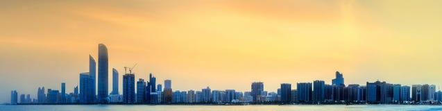 Abu Dhabi Skyline Royalty Free Stock Photos