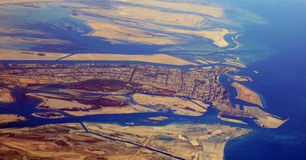 Abu Dhabi stad - UAE Royaltyfri Foto