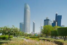 Abu Dhabi-Stadt Lizenzfreie Stockfotografie