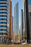 Abu Dhabi Street Fotos de archivo libres de regalías