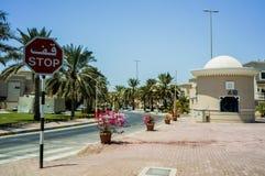 Abu Dhabi. Summer 2016. A modern green metropolis of Arab culture on the shores of the Arabian Gulf. Stock Photography