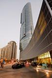 Abu Dhabi - Sun-Turm Stockbild