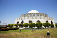 Abu Dhabi Theatre, Abu Dhabi, UAE stock photography
