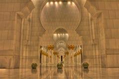 Abu Dhabi tusen dollarmoské Arkivfoton