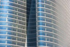 Abu Dhabi Investment Authority Building. ABU DHABI, UAE - MARCH 27, 2006: A detail of the Abu Dhabi Investment Authority Building in the Emirate of Abu Dhabi Royalty Free Stock Image