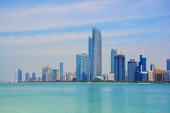 ABU DHABI UAE - MARS 26, 2016: Abu Dhabi Royaltyfri Fotografi