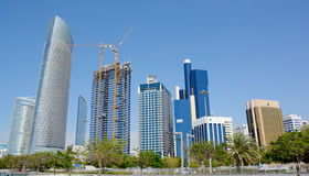 ABU DHABI UAE - MARS 26, 2016: Abu Dhabi Arkivfoto