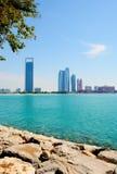 ABU DHABI, UAE - 26 MARZO 2016: Abu Dhabi Fotografie Stock Libere da Diritti