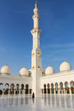 Abu Dhabi, UAE - 10. Oktober 2014: Sheikh Zayed-Moschee in Abu-AVW Stockfotos