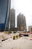 Contruction in Abu Dhabi Stock Photo