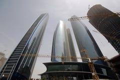 Contruction in Abu Dhabi Stock Image