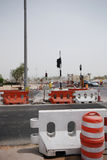 Contruction in Abu Dhabi Royalty Free Stock Photography