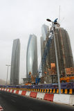 Contruction in Abu Dhabi Stock Images