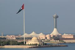 Abu Dhabi, United Arab Emirates Stock Image