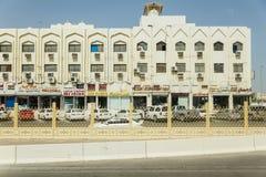 Abu Dhabi Urban Living in der Eigentumswohnung, UAE Stockfoto