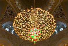 abu dhabi uroczysty meczetowy sheikh uae zayed Fotografia Stock